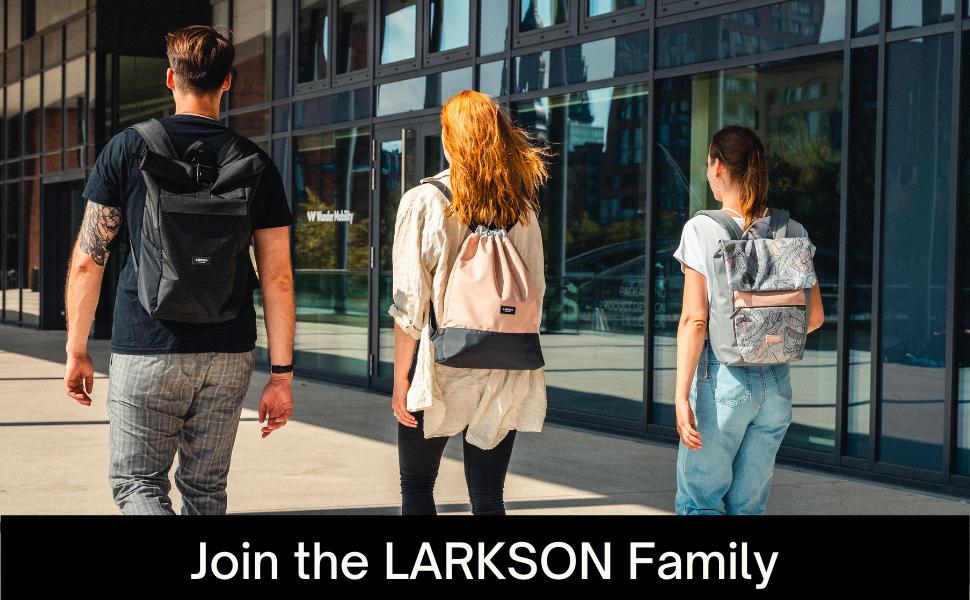 Larkson  Rucksack für Damen und Herren