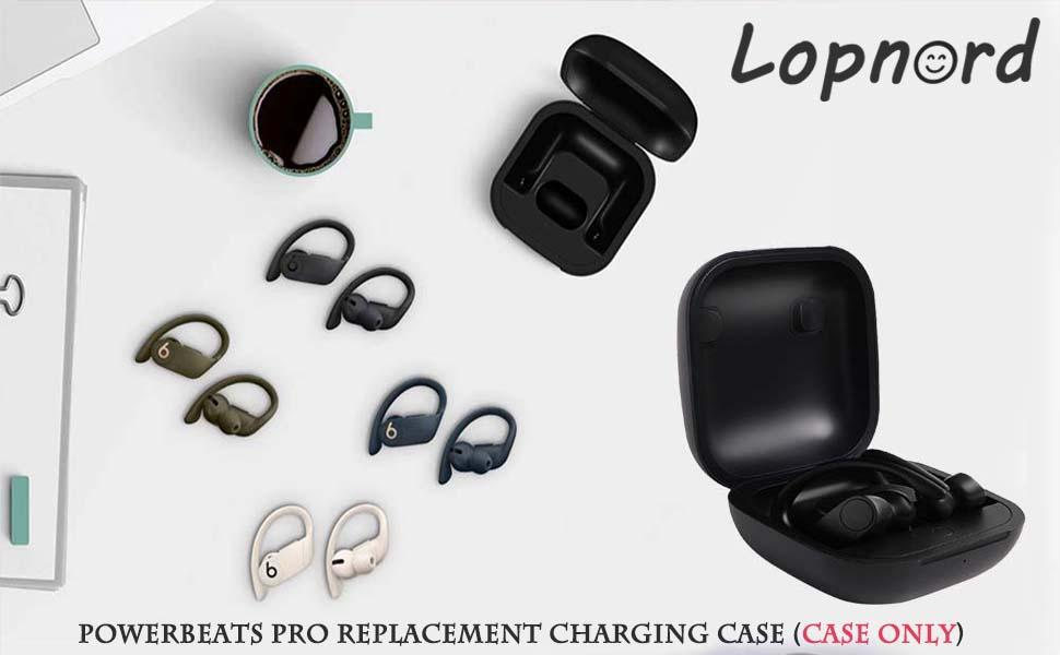 Replacement Charging Case Compatible with Beats Powerbeats Pro