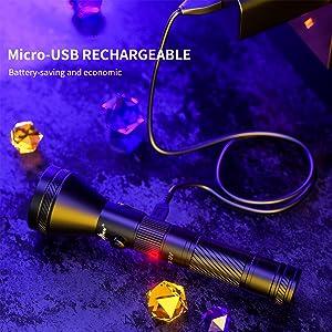 rechargeable balck light