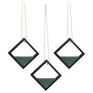 artificial floral pick hangers set detail feature