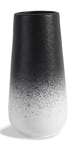 SANFERGE black gradient flower vase