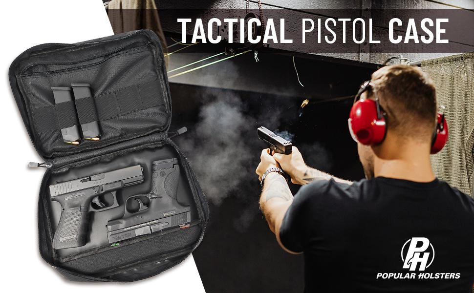 pistol case handgun small range bags hand carry fanny pack holster concealed beretta handguns dixie