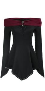 women gothic shirt