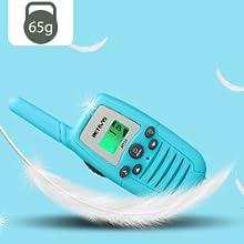 light walkie talkies suitable for kids
