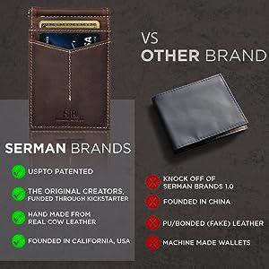 front pocket wallet, mens wallet leather, wallets for men minimalist, card wallet men