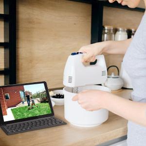 Reolink Caméra de Surveillance à Batterie Extérieure Contrôlez Vos Caméras, en Mains Libres