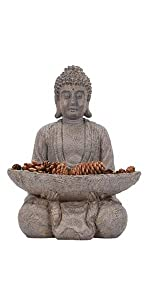 buddha with holder