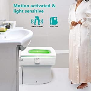 LED Toilet Light motion sensor
