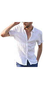 Men's Solid Color Casual Shirt