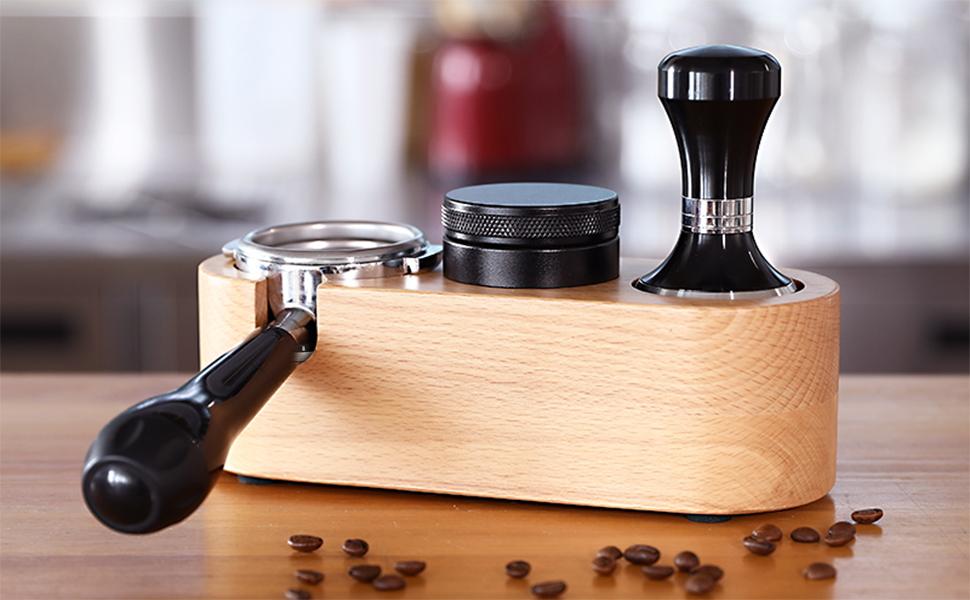 Wood Coffee Filter Tamper Holder
