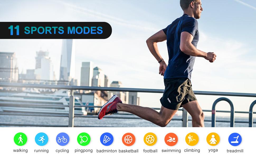 11 sports modes
