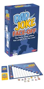 Dad Joke Face Off 1st edition box and components