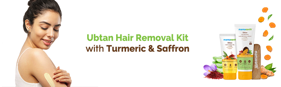Ubtan Nourishing Hair Removal Cream Kit