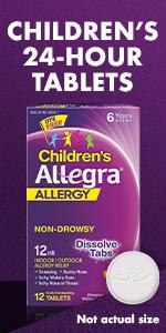 Children and toddler allergy medicine.