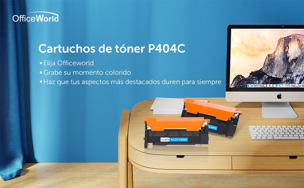 OfficeWorld CLT-404 CLT-P404C Cartouche de Toner