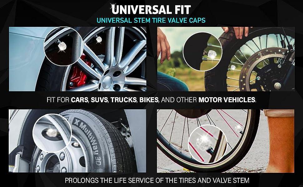 Universal EcoNour Stem Tire Caps
