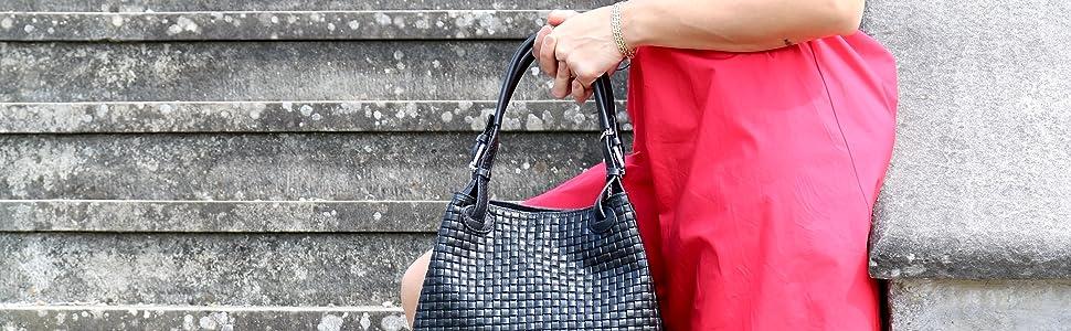 borsa a mano bauletto donna pelle italiana tracolla elegante spalla occasione speciale ragazza
