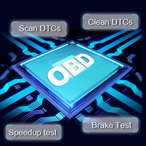 Cet affichage tête haute dispose d'un double système OBD2 + GPS