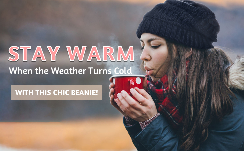 Winter Warm Chic Beanie Cold Hat