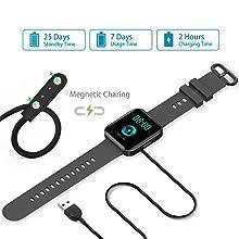 Megnetic charging