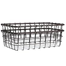 farmhouse food storage baskets
