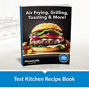 powerxl test kitchen recipe book