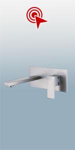 Wall Mounted Bathroom Sink Faucet