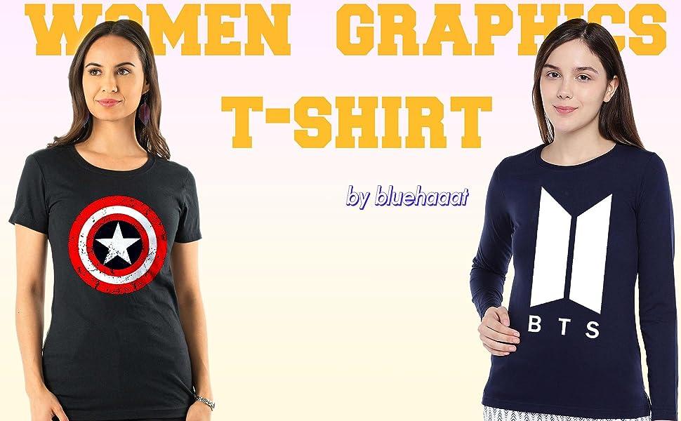 women tshirt bluehaat