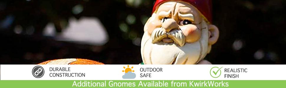 Garden Gnome English Bulldog Lawn Statue Figurine