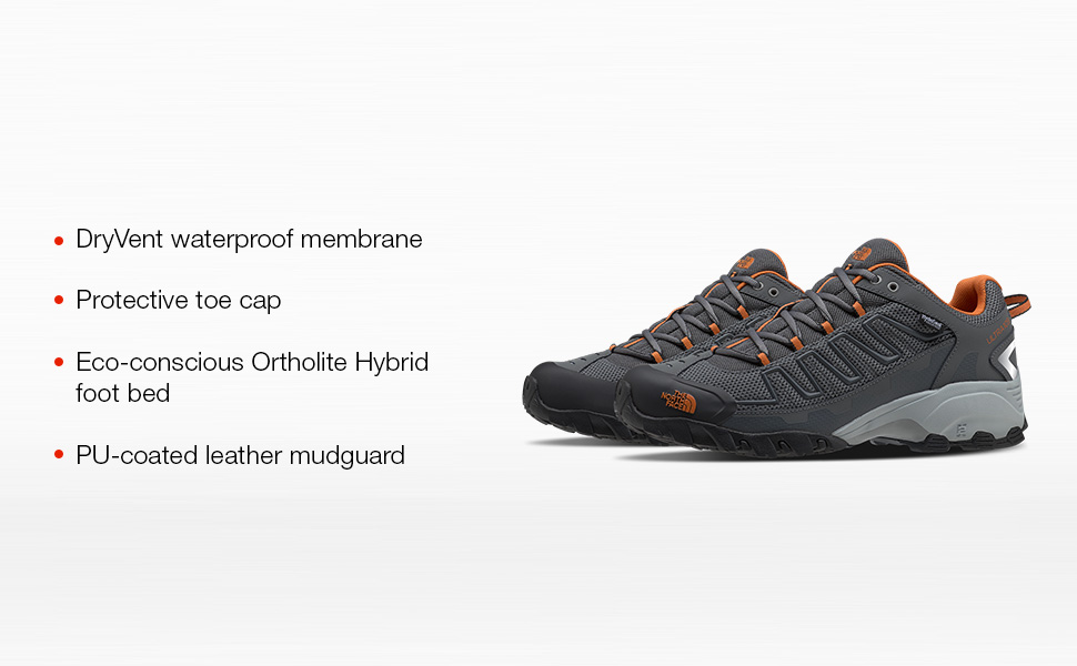 FEATURING A COMFORTABLE FOOT BED, PROTECTIVE TOE CAP AND DRYVENT WATERPROOF CONSTRUCTION.