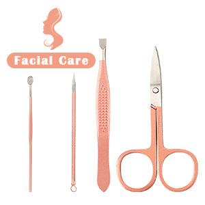 12pcs manicure set nail grooming kit nail clipper set manicure pedicure kit for women girls ladies
