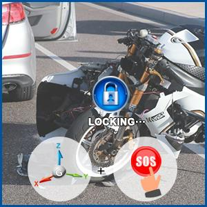 G-sensor Help Record Video Evidence in Case of An Accident