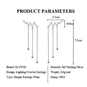 lighting_crawler_arrings_dangle_chain_for_women_teen_girls_wave _cuff_climber_earrings_tassel