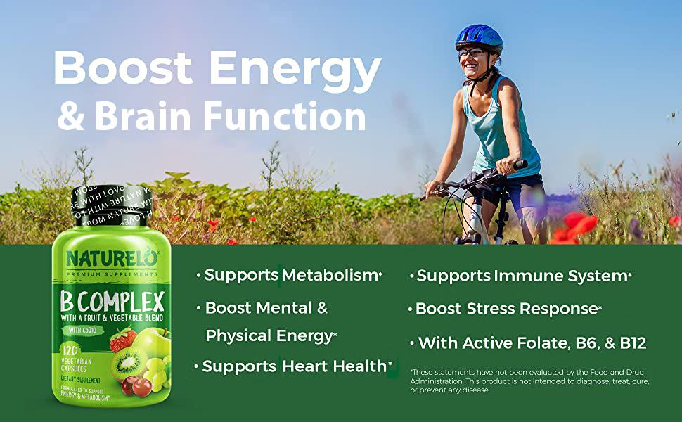 Boost Energy and Brain Function with B complex