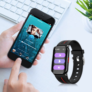 smart watch with music control