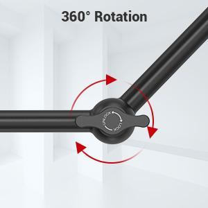 SMALLRIG 10 Pollici Magic Arm con 1/4 Pollici Vite per Monitor e EVF - 2066