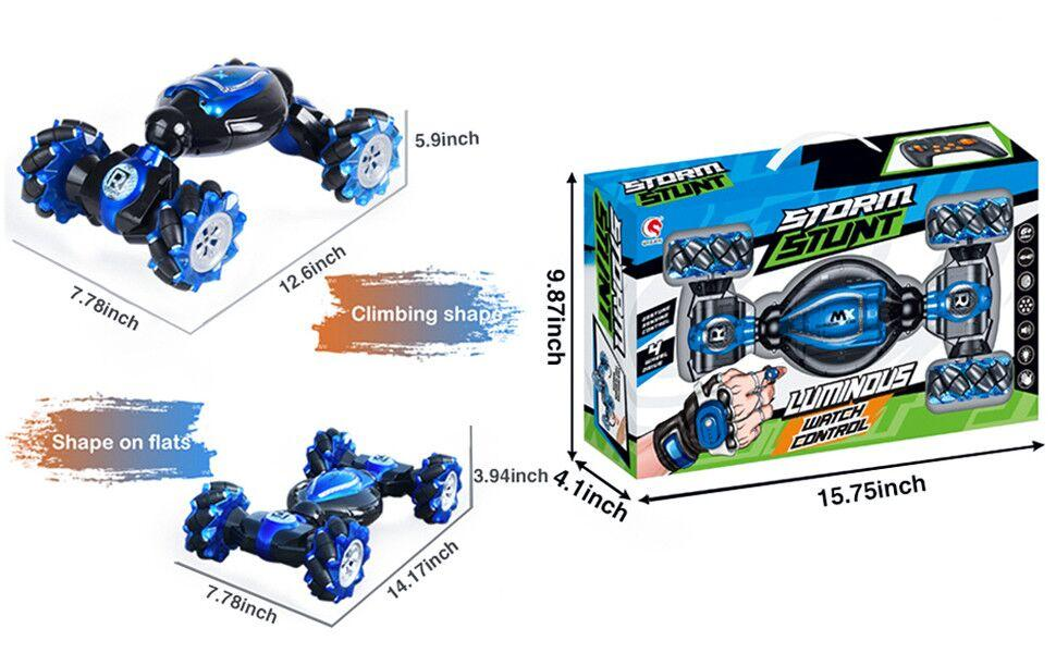 RC car size and package size