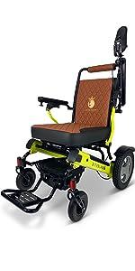 Patriot 11 Electric Wheelchair for Adults, Premium Foldable All Terrain Wheelchair