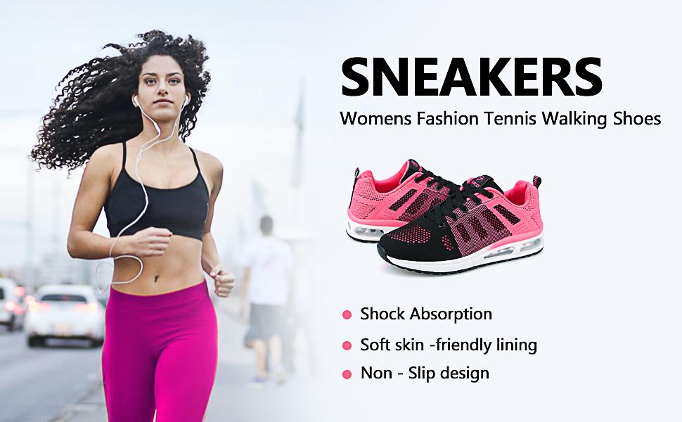 Women Fashion Tennis Walking Shoes
