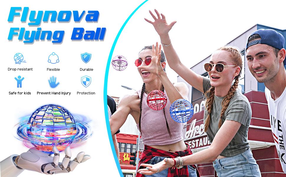 Outdoor games Flying Ball Toys FLYNOVA Fidget Toy magic Drone Flying Toy UFO birthday Christmas gift