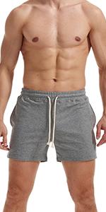 mesn workout sweat shorts 5 inch