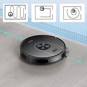 WIFI robot vacuum BG800