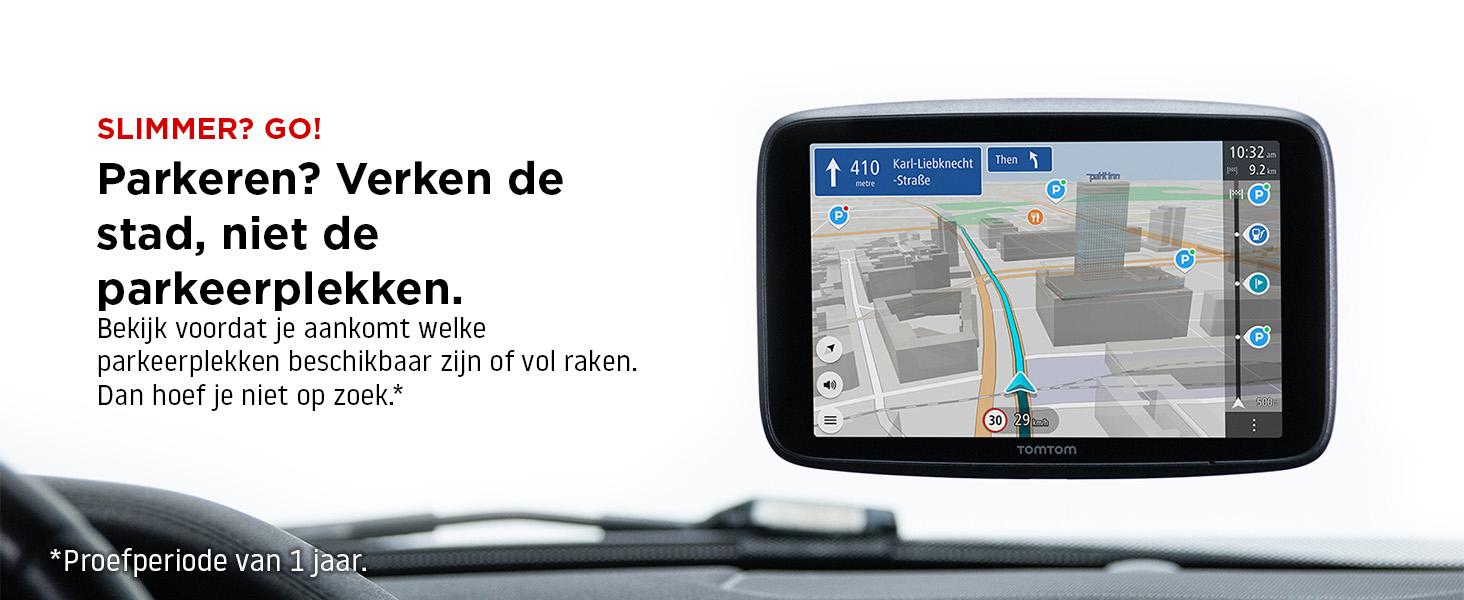 Informatie over parkeermogelijkheden