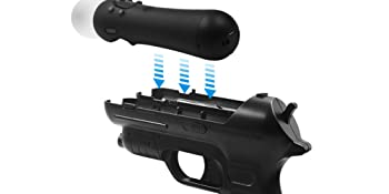 PS Move Controller shooting gun