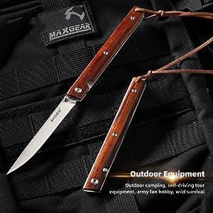 M390 steel high hardness pocket knife