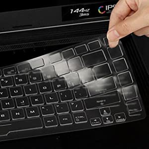 ASUS ROG Strix Scar 15 keyboard cover