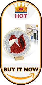 Fox Punch Needle Kit