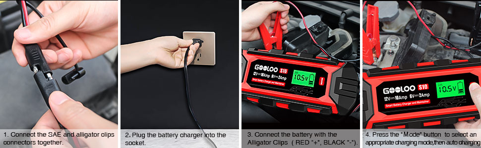 gooloo S10 automotive battery charger
