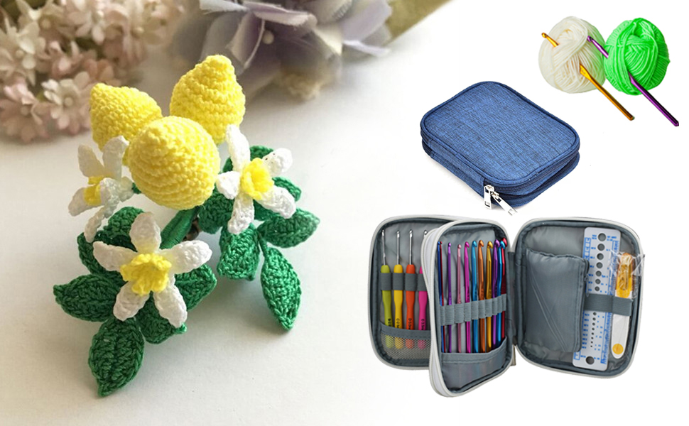 Katech Crochet Hooks Kit Set