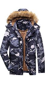 Dream camouflage waterproof coat for menamp;#39;s,8 pocket